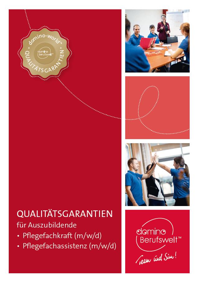 domino-world Qualitätsgarantien für Auszubildende