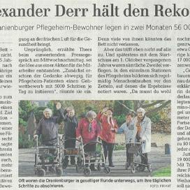 Märkische Allgemeine Zeitung vom 10.01.2019
