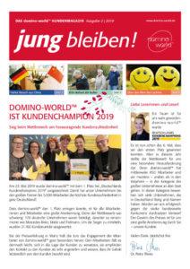 domino-world-Kundenmagazin Ausgabe 2-2019